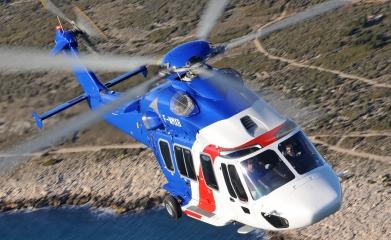 El peso máximo al despegue del Eurocopter EC175 es de 7,5 toneladas