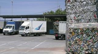 Residuos recuperados del aeropuerto de Málaga
