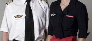 Indumentaria del personal de Air France
