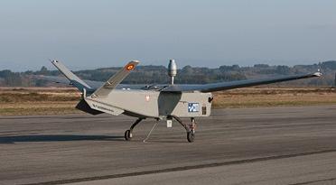 Imagen del Atlante, en la pista del aeródromo gallego / Foto: EADS