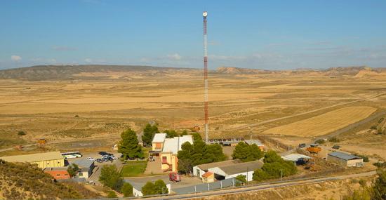 Polígono de Tiro de las Bárdenas Reales, situado en Navarra / Foto: Ministerio de Defensa