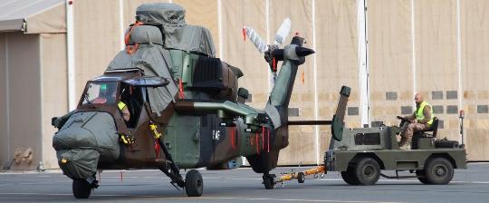 Ahora España tiene en Afganistán 9 helicópteros / Foto: <Ministerio de Defensa