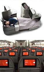 Interior del avión