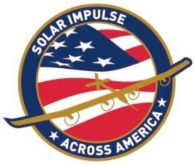Logotipo de los vuelos que hará el Solar Impulse en EEUU
