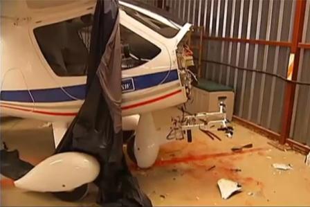 Un Flight Design CTSW, sin el motor / Foto: Vídeo TV3