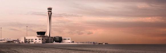 La torre de control tiene 93 metros de altura / Foto: Dubai Airports