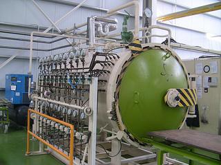 Maquinaria de la empresa Carbures