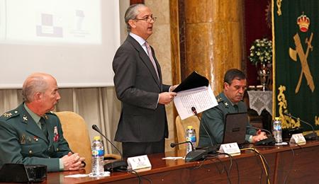 Arsenio Fernández, durante su intervención / Foto: Ministerio del Interior