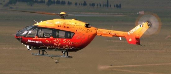 Imagen del vuelo sin piloto / Foto: Eurocopter