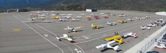 La aviación deportiva es la principal usuario de la instalación / Foto: FAC