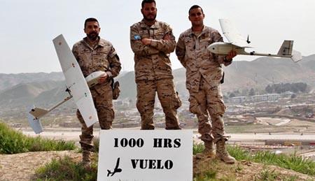 España opera este UAV desde febrero de 2010 / Foto: Ministerio de Defensa