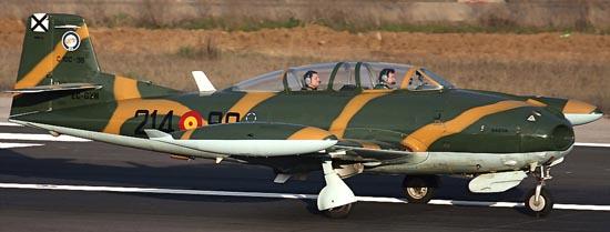 Hispano Aviación HA-220 Super Saeta (EC-GZN) / Foto: Josep Ventura