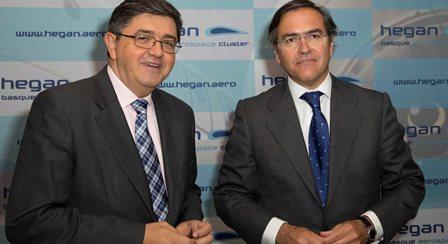 De izquierda a derecha: José Juez, Director gerente de HEGAN e Ignacio Mataix, Presidente de HEGAN y Director General de ITP