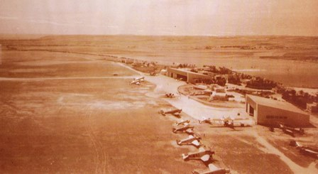 El aeropuerto de Madrid en 1933