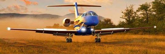 Pilatus hará realidad que un jet aterrice en pistas sin asfaltar