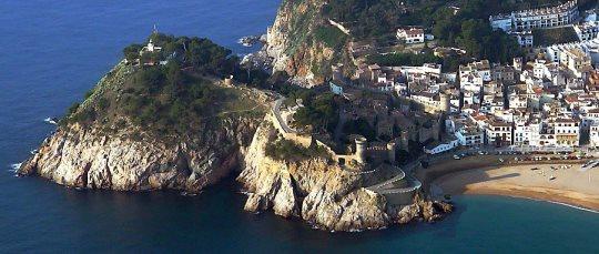 Imagen aérea de Tossa de Mar / Foto: Xavier Pou