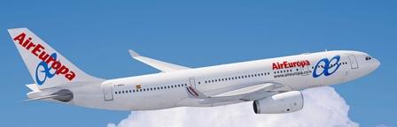 La ruta se hará con un A330