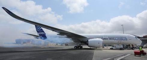 Al quemar el aceite del motor expulsó humo / Foto: Airbus