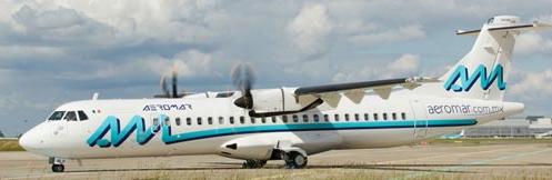 Aeromar tiene 14 ATR, pero este es el de mayor tamaño / Foto: ATR