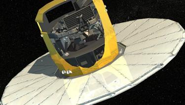 Recreación de Gaia en operando en el espacio