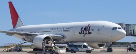 Boeing 777 de Japan Airlines / Foto: Aena