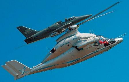 El demostrador X3 de Eurocopter