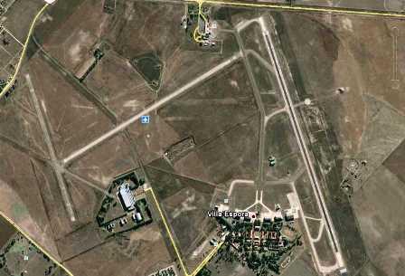 Aeropuerto de Bahía Blanca / Foto: Google Earth
