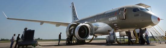 El programa del CSeries atraviesa dificultades / Foto: Bombardier