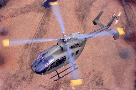 Eurocopter EC645, que en EEUU se denomina UH-72A Lakota