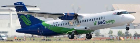 El ATR 72-600 de MASwings, depegando del aeropuerto de Toulouse / Foto: ATR