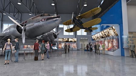 Imagen virtual del museo tras su reforma