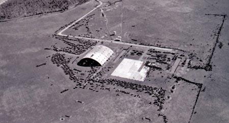 El aeropuerto de Sevilla, en los años 30