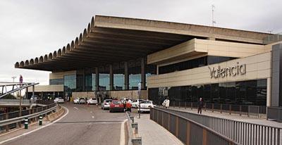 Terminal del aeropuerto de Valencia