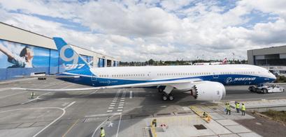 El primer Boeing 787-9 volará a finales de verano