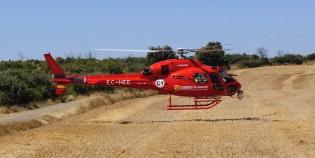 Helicóptero operado por Inaer / Foto: Gobierno de Aragón