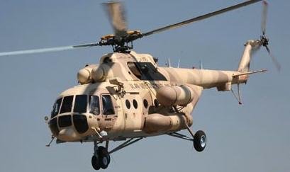 Foto: Helicópteros de Rusia