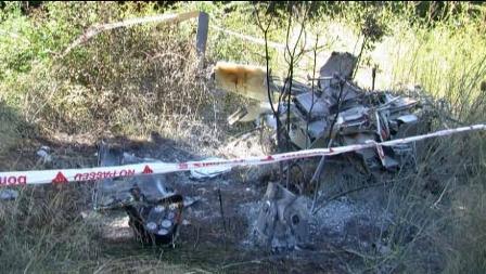 El helicóptero se incendió después de ser rescatados los heridos
