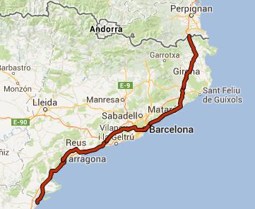 Recorrido de la Vía Catalana hacia la Independencia
