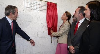 Inauguración de las nuevas instalaciones de Elecnor Deimos