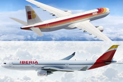 La nueva imagen de Iberia