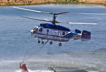 Helicóptero Kamov Ka-32A11BC (EC-JSP)