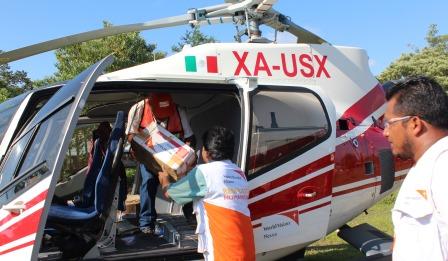 La ayuda de la fundación de Eurocopter se concreta en financiar 30 horas de vuelo