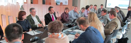 Reunión de trabajo en Aeropolis