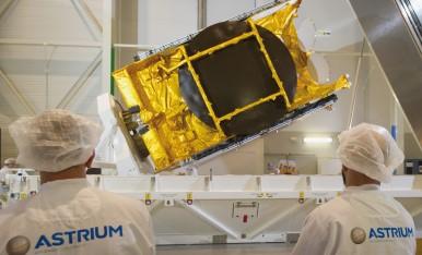 El satélite Astra 5B