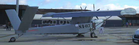 El Singular Aicraft, en el aeropuerto de Lleida-Alguaire