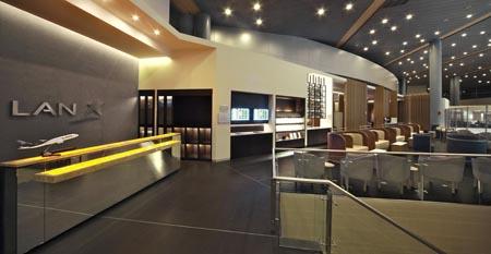 Salón VIP de LAN y TAM en el aeropuerto de Bogotá