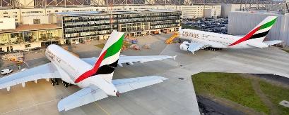 En 2014 Emirates recibirá 14 A380
