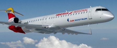 La ruta la realiza Air Nostrum