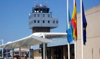 Torre de control del aeropuerto de Asturias