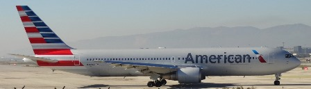 Boeing 767 de American Airlines